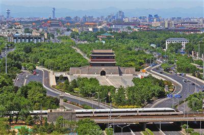 北京年内将贯通中轴线南段中央御道