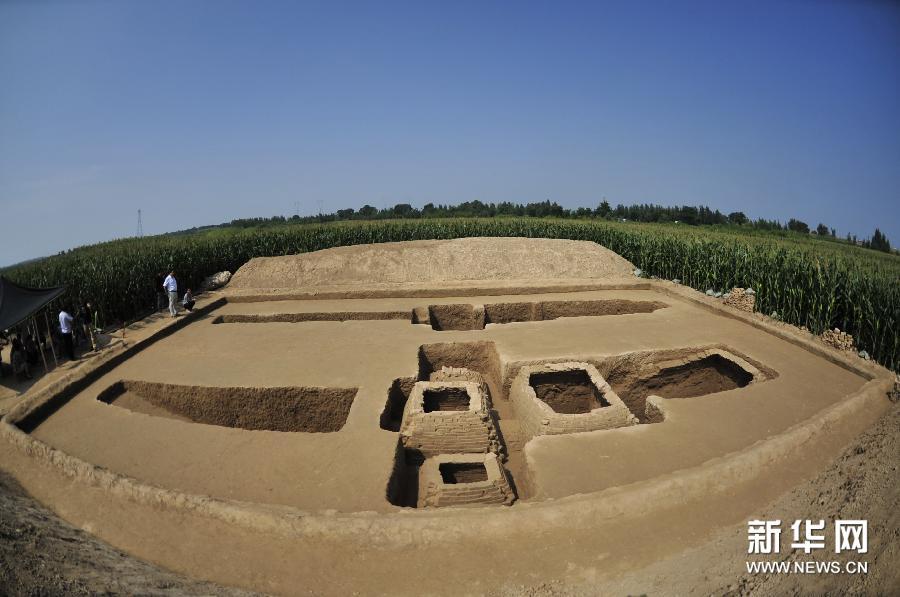 (晚报)(1)河北黄骅发现东汉墓葬
