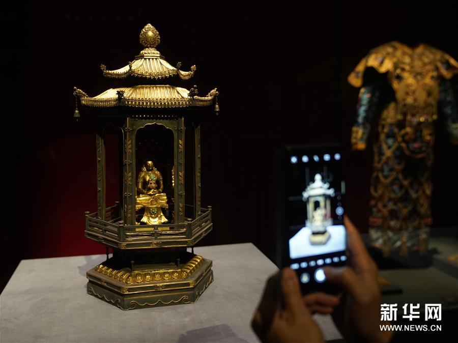 """(文化)(2)""""须弥福寿——当扎什伦布寺遇上紫禁城""""展亮相故宫"""