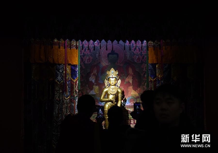 """(文化)(1)""""须弥福寿——当扎什伦布寺遇上紫禁城""""展亮相故宫"""