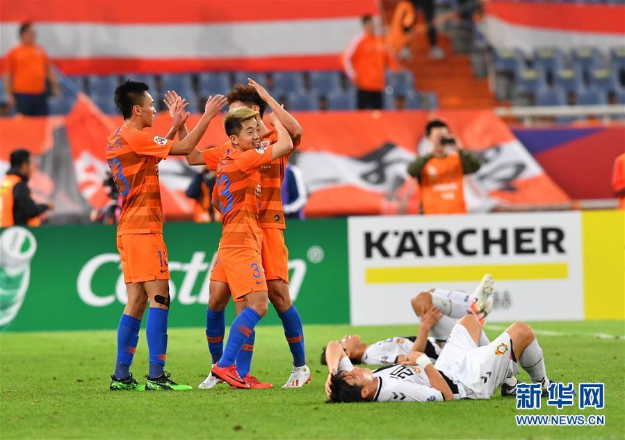 (体育)(13)足球——亚冠联赛:山东鲁能胜韩国庆南FC
