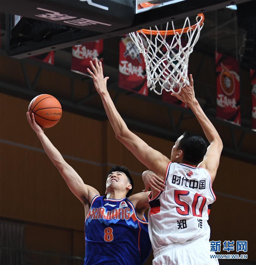 (体育)(3)篮球——CBA第一阶段:新疆伊力特胜时代中国广州