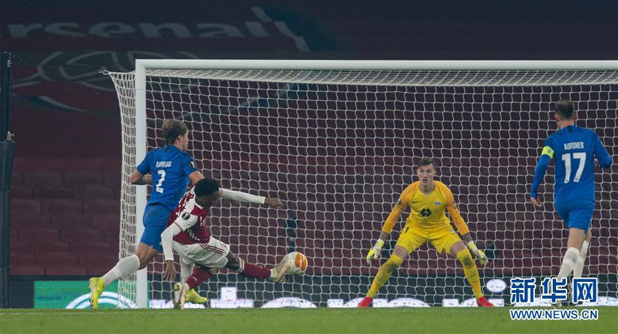 (体育)(3)足球——欧罗巴联赛:阿森纳主场胜莫尔德
